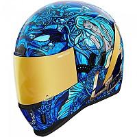 [해외]ICON Airform Ships Company Full Face Helmet 9138335850 Blue