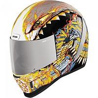 [해외]ICON Airform Warthog Full Face Helmet 9138335858 Silver