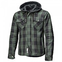[해외]HELD Lumberjack II Long Sleeve Shirt 9137423158 Black / Green