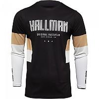 [해외]THOR Hallman Differ Draft Long Sleeve Jersey 9138186987 Black / Latte