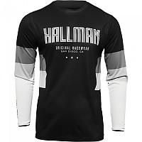 [해외]THOR Hallman Differ Draft Long Sleeve Jersey 9138186988 Black / White