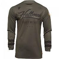 [해외]THOR Hallman Hopetown Long Sleeve Jersey 9138186995 Army / Black