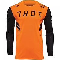 [해외]THOR Prime Hero Long Sleeve Jersey 9138187023 Black / Fluo Orange