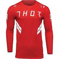 [해외]THOR Prime Hero Long Sleeve Jersey 9138187026 Red / White