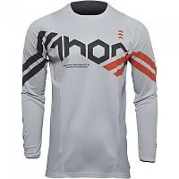[해외]THOR Pulse Cube Long Sleeve Jersey 9138187053 Grey / Orange
