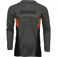 [해외]THOR Pulse React Long Sleeve Jersey 9138187069 Army / Black