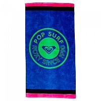 [해외]록시 Perfect Inspiration Towel Princess Blue Texture Flower