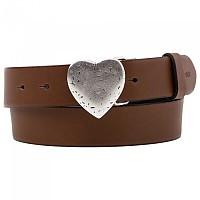 [해외]리바이스 FOOTWEAR Heart Plaque Belt Brown