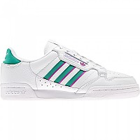 [해외]아디다스 ORIGINALS Continental 80 Stripes Sneakers Ftwr White / Glory Green / Sonic Fuchsia