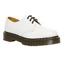 [해외]닥터마틴 1461 Bex 3-Eye Patent Lamper Shoes White