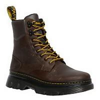 [해외]닥터마틴 Tarik 8 Tie Crazy Horse Boots Dark Brown