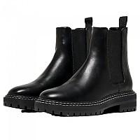 [해외]ONLY Beth 2 Pu Leather Boots Black