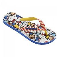 [해외]하바이아나스 Top Hello Kitty Flip Flops Refurbished Blue Star