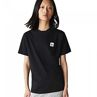 [해외]라코스테 Live Patch Cotton Short Sleeve T-Shirt Black