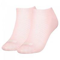 [해외]푸마 Sneaker Socks 2 Pairs Lotus Pink