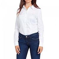 [해외]GUESS Cate Long Sleeve Shirt Pure White