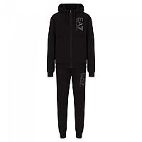 [해외]EA7 6KPV57 Track Suit Black