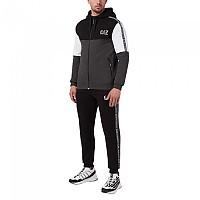 [해외]EA7 6KPV63 Track Suit Black