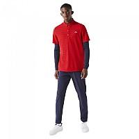 [해외]라코스테 Sport Textured Breathable Golf Short Sleeve Polo Shirt 12137944527 Rubis