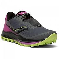 [해외]써코니 Peregrine 11 ST Trail Running Shoes 4138273515 Shadow / Raz / Lime
