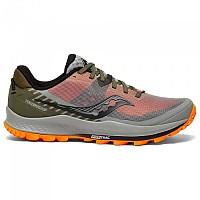 [해외]써코니 Peregrine 11 Trail Running Shoes 4138283890 Alloy / Olive / Vizi