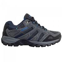 [해외]HI-TEC Torca Low WP Hiking Shoes 4138315799 Charcoal / Nautical Blue
