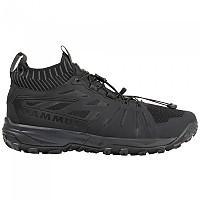 [해외]마무트 Saentis Knit Low Shoes 4138339214 Black / Phantom