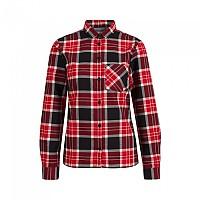 [해외]마무트 Trovat Long Sleeve Shirt 4138294671 Black / Magma