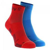 [해외]이노브8 TrailFly Mid Socks 4138135755 Blue / Red