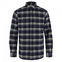 [해외]피일라벤 ?vik Heavy Flannel Long Sleeve Shirt 4138245260 Dark Navy-Buckwheat Brown