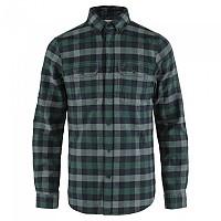 [해외]피일라벤 Skog Long Sleeve Shirt 4138245268 Arctic Green-Dark Navy