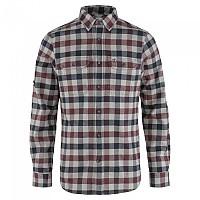 [해외]피일라벤 Skog Long Sleeve Shirt 4138245269 Dark Garnet-Fog