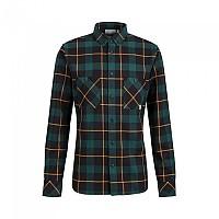[해외]마무트 Alvra Long Sleeve Shirt 4138294074 Black / Dark Teal