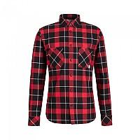 [해외]마무트 Alvra Long Sleeve Shirt 4138294075 Black / Magma