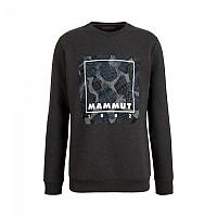 [해외]마무트 Sweatshirt 4138294625 Black Melange