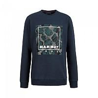 [해외]마무트 Sweatshirt 4138294628 Marine Melange