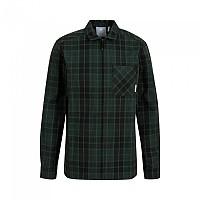 [해외]마무트 Tamaro Long Sleeve Shirt 4138294632 Dark Teal / Black