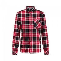 [해외]마무트 Trovat Long Sleeve Shirt 4138294670 Black / Magma