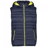 [해외]CMP Zip Hood Vest 4138315772 Black Blue