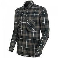 [해외]마무트 Alvra Long Sleeve Shirt 4138339171 Black / Titanium