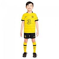 [해외]나이키 Chelsea FC 20/21 Away Little Kit Set 3138251053 Opti Yellow / Black / Black