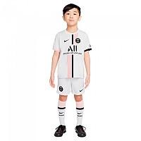 [해외]나이키 Paris Saint Germain 20/21 Away Little Kit Set 3138253404 White / Arctic Punch / Black