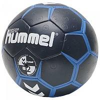 [해외]험멜 Energizer Handball Ball 3138055579 Dark Sapphir / Fiesta / Blue Coral