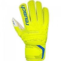 [해외]로이쉬 Fit Control RG Open Cuff Finger Sup Goalkeeper Gloves Refurbished 3138343045 Lime / Safety Yellow