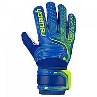 [해외]로이쉬 Attrakt SG Goalkeeper Gloves Refurbished 3138343046 Deep Blue / Safety Yellow