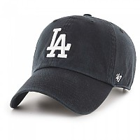 [해외]47 MLB Los Angeles Dodgers Clean Up Cap 3137687711 Black / White