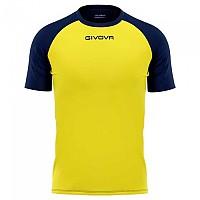 [해외]GIVOVA Capo Short Sleeve T-Shirt 3138326577 Yellow / Blue