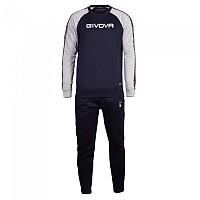 [해외]GIVOVA 102 Track Suit 3138330667 Light Melange Grey / Blue