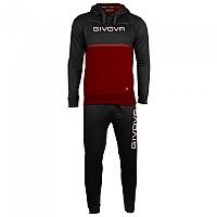 [해외]GIVOVA 106 Track Suit 3138330719 Black / Grenade