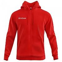 [해외]GIVOVA 500 Full Zip Sweatshirt 3138330733 Red